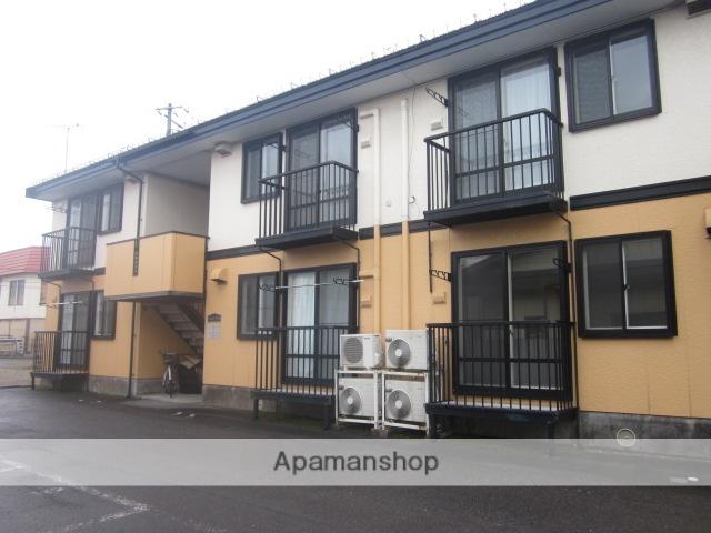 秋田県大仙市、羽後長野駅徒歩12分の築21年 2階建の賃貸アパート