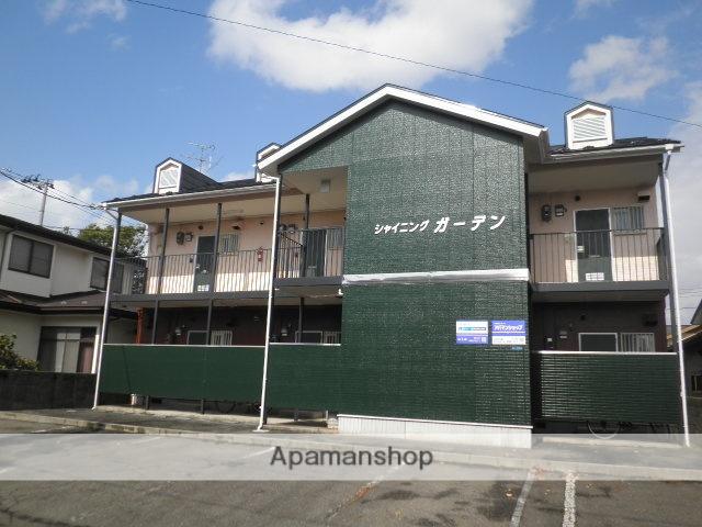 秋田県秋田市、新屋駅徒歩10分の築20年 2階建の賃貸アパート