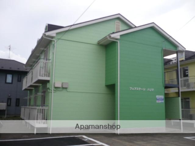 秋田県秋田市、土崎駅バス15分砂山下車後徒歩20分の築21年 2階建の賃貸アパート