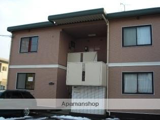 秋田県秋田市、秋田駅徒歩22分の築30年 2階建の賃貸アパート