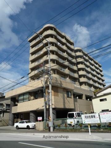 秋田県秋田市、秋田駅徒歩10分の築27年 9階建の賃貸マンション
