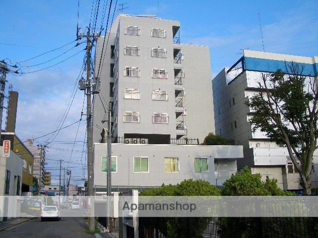 秋田県秋田市、秋田駅徒歩10分の築38年 8階建の賃貸マンション
