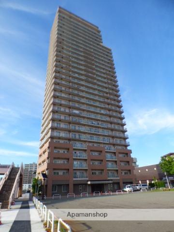 秋田県秋田市、秋田駅徒歩12分の築13年 30階建の賃貸マンション