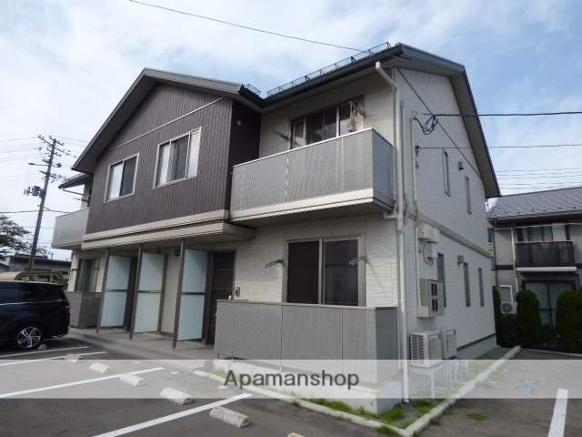 秋田県秋田市、羽後牛島駅徒歩1分の築1年 2階建の賃貸アパート