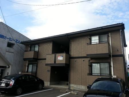 秋田県秋田市、羽後牛島駅徒歩14分の築16年 2階建の賃貸アパート