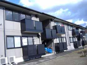 秋田県南秋田郡五城目町の築15年 2階建の賃貸アパート