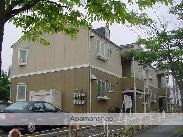 秋田県潟上市、追分駅徒歩22分の築20年 2階建の賃貸アパート