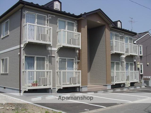 秋田県秋田市、追分駅徒歩10分の築16年 2階建の賃貸アパート