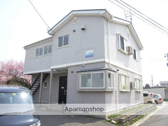 秋田県由利本荘市、羽後本荘駅徒歩29分の築17年 2階建の賃貸アパート