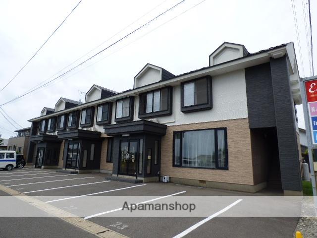 秋田県由利本荘市、西目駅徒歩21分の築18年 2階建の賃貸アパート