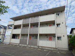 秋田県由利本荘市、羽後本荘駅徒歩8分の築9年 3階建の賃貸アパート