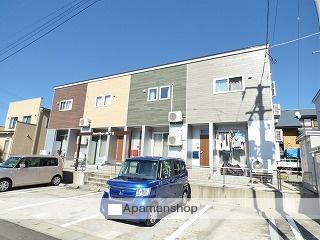 秋田県由利本荘市、羽後本荘駅徒歩12分の築2年 2階建の賃貸アパート
