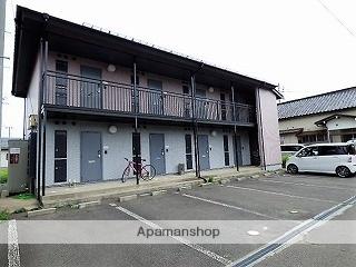 秋田県由利本荘市、羽後本荘駅徒歩10分の築14年 2階建の賃貸アパート