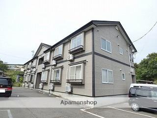 秋田県由利本荘市、薬師堂駅徒歩20分の築14年 2階建の賃貸アパート