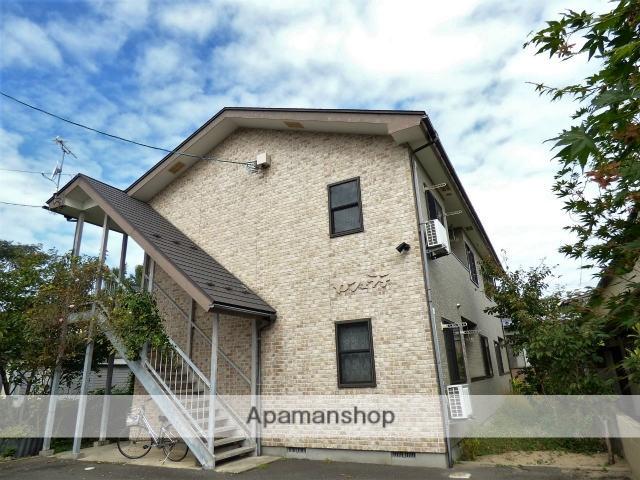 秋田県由利本荘市、羽後本荘駅徒歩5分の築14年 2階建の賃貸アパート