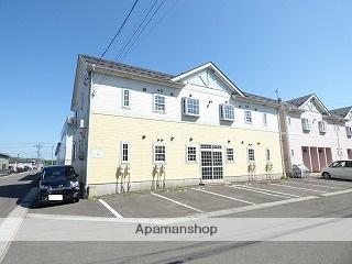 秋田県由利本荘市、羽後本荘駅徒歩17分の築14年 2階建の賃貸アパート