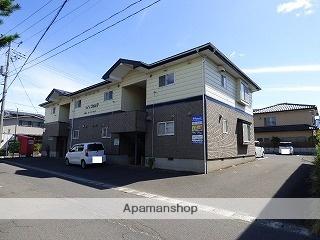 秋田県由利本荘市、羽後本荘駅徒歩19分の築20年 2階建の賃貸アパート