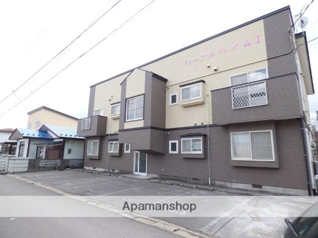 秋田県由利本荘市、羽後本荘駅徒歩20分の築20年 2階建の賃貸アパート