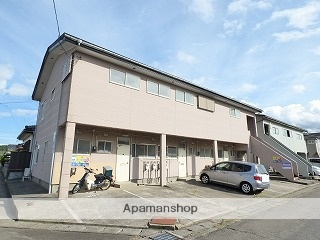 秋田県にかほ市、象潟駅徒歩10分の築30年 2階建の賃貸アパート
