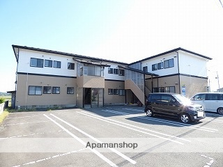 秋田県由利本荘市の築21年 2階建の賃貸アパート