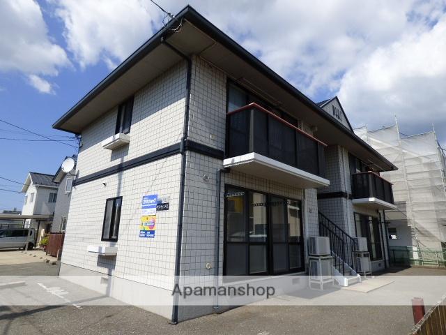 秋田県秋田市の築21年 2階建の賃貸アパート