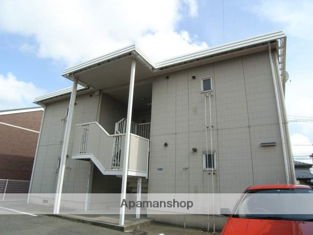 秋田県秋田市、秋田駅バス20分堂の沢下車後徒歩5分の築25年 2階建の賃貸アパート