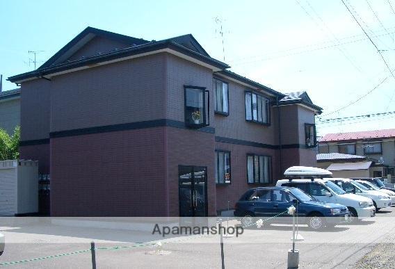 秋田県秋田市の築18年 2階建の賃貸アパート