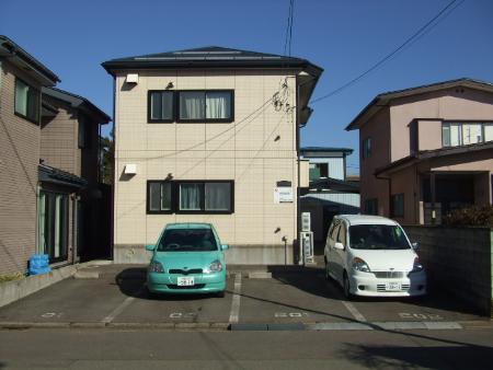 秋田県秋田市の築16年 2階建の賃貸アパート