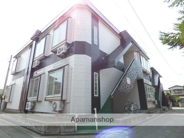 秋田県秋田市、秋田駅徒歩16分の築24年 2階建の賃貸アパート