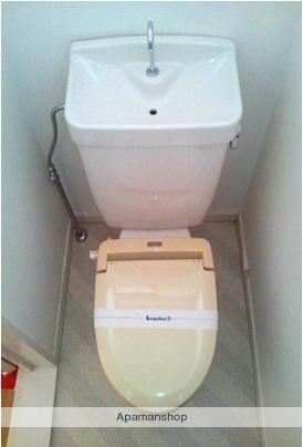 将軍野レジデンス[1K/19.23m2]のトイレ