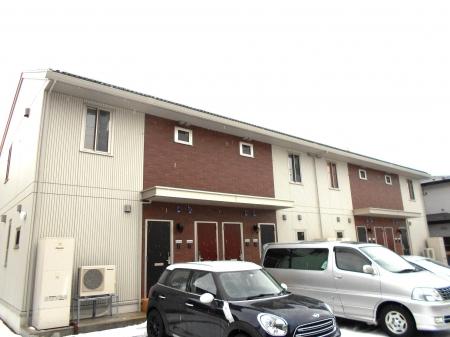 秋田県秋田市、秋田駅徒歩11分の新築 2階建の賃貸アパート