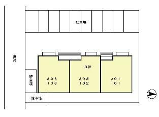 ペイシェント[2LDK/52.62m2]の配置図