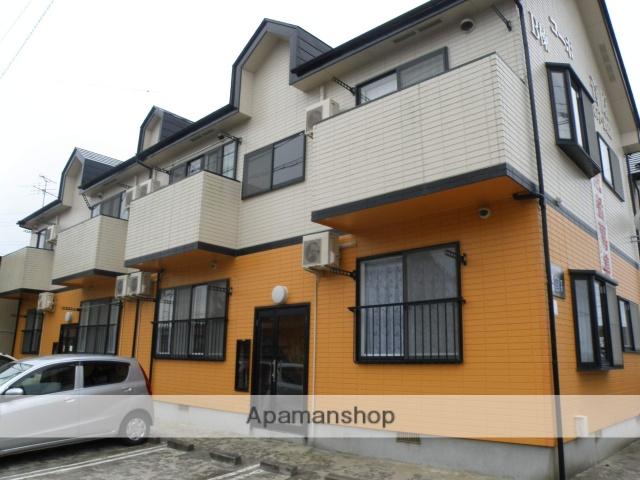 秋田県潟上市、大久保駅徒歩13分の築19年 2階建の賃貸アパート