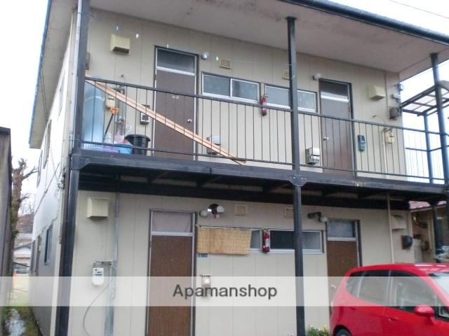 秋田県秋田市、秋田駅徒歩13分の築43年 2階建の賃貸アパート