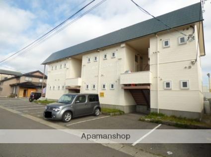 秋田県秋田市、羽後牛島駅徒歩23分の築24年 2階建の賃貸アパート