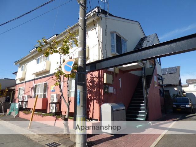 秋田県秋田市、秋田駅徒歩15分の築26年 2階建の賃貸アパート