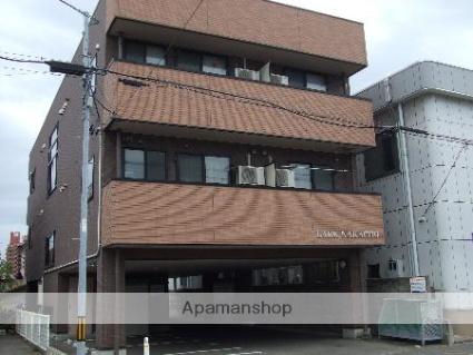 秋田県秋田市、秋田駅バス10分すわ町下車後徒歩1分の築11年 3階建の賃貸アパート