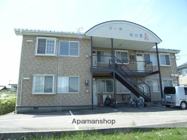 秋田県秋田市の築28年 2階建の賃貸アパート