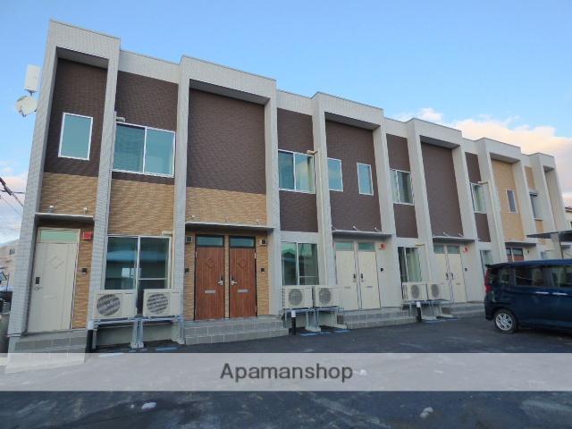秋田県秋田市、秋田駅徒歩15分の新築 2階建の賃貸アパート