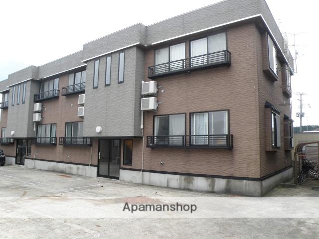 秋田県潟上市、大久保駅徒歩10分の築15年 2階建の賃貸アパート