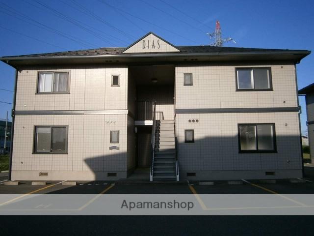 秋田県秋田市、羽後牛島駅徒歩20分の築19年 2階建の賃貸アパート