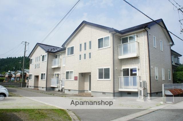 秋田県秋田市、秋田駅徒歩40分の築12年 2階建の賃貸アパート