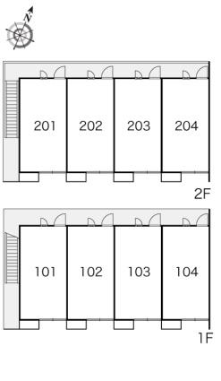 レオパレス東潟敷[1K/20.28m2]の内装2