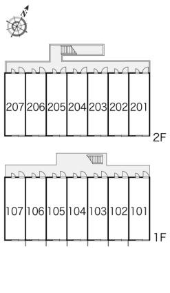 レオパレスSHIRAYAMA[1K/22.35m2]の内装2