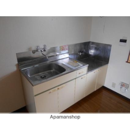 丸喜マンションサンシャルムA棟[2DK/46.37m2]のキッチン