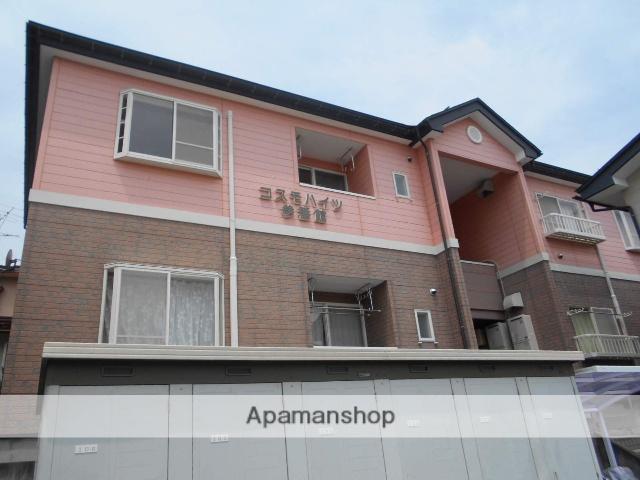 山形県上山市、かみのやま温泉駅徒歩12分の築19年 2階建の賃貸アパート