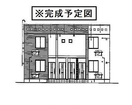 蟹沢アパートA[1LDK/50.24m2]の外観