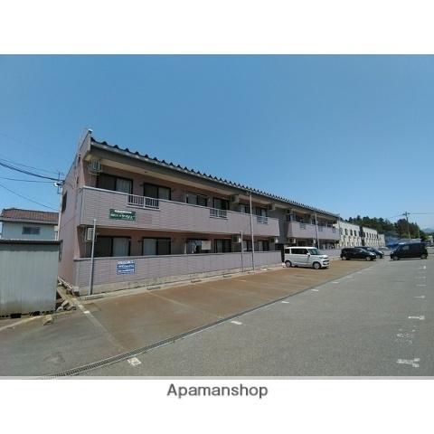 山形県米沢市、米沢駅山交バスバス9分松が岬下車後徒歩4分の築13年 2階建の賃貸アパート