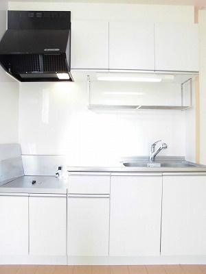 ウエスト ルーフ[1LDK/45.81m2]のキッチン