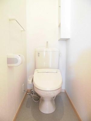 ウエスト ルーフ[1LDK/45.81m2]のトイレ